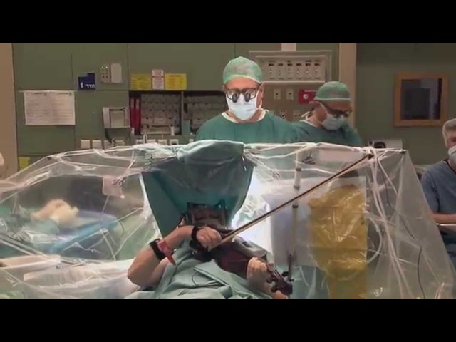 Violinist undergoes DBS