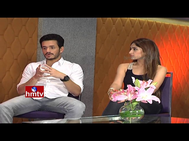 Akhil Akkineni And Sayesha Saigal Exclusive Interview Coffees and Movies HMTV