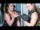 WORKOUT MOTIVATION WITH 2 AMAZING CROSSFIT FEMALE ATHLES follow @kaitbrierley and @christen wags