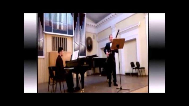 Лев Колодуб.Концерт для фагота и камерного оркестра 1 ч.