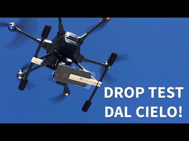 IPhone 7 DROP TEST ESTREMO da 15 METRI con DRONE