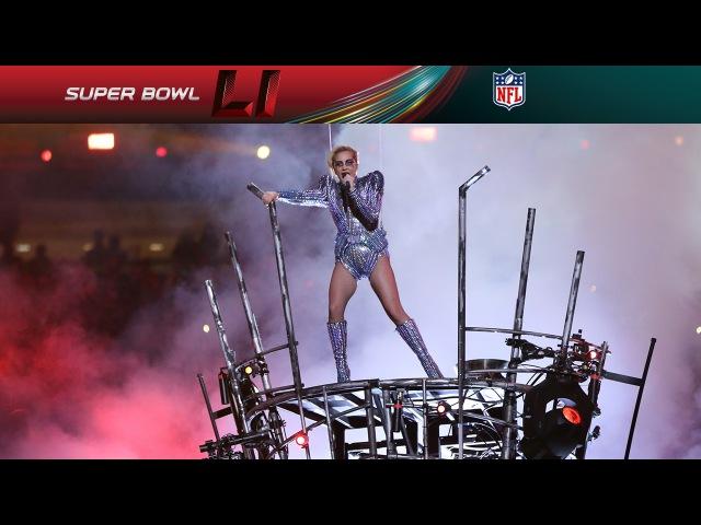Lady Gagas FULL Pepsi Zero Sugar Super Bowl LI Halftime Show   NFL