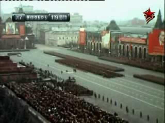 История военных парадов на Красной площади - 3 серия
