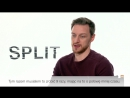"""""""Split"""" James McAvoy o swojej postaci Ma 23 albo 24 osobowości ale pokazuję jedynie 9 WIDEO ZDJĘCIA"""