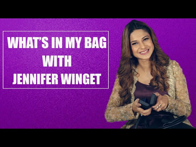 What's in my bag with Jennifer Winget S02E02 Bollywood Fashion Pinkvilla
