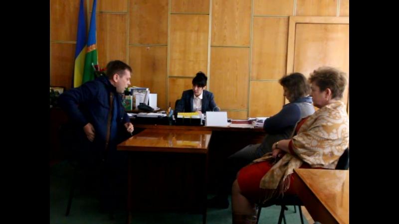 Беззаконня у кабінеті голови христинівської РДА Денисюк Л. М.
