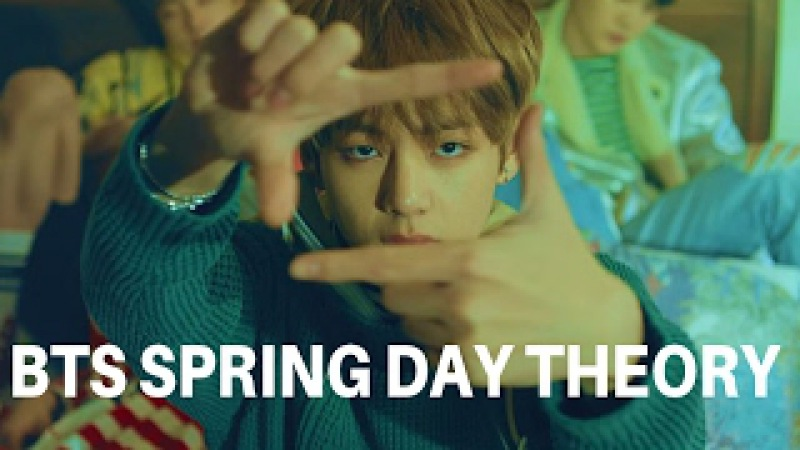 BTS SPRING DAY THEORY No vacancy Taehyung's death Jimin the trapped child