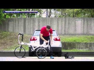 Семейный велосипед тандем