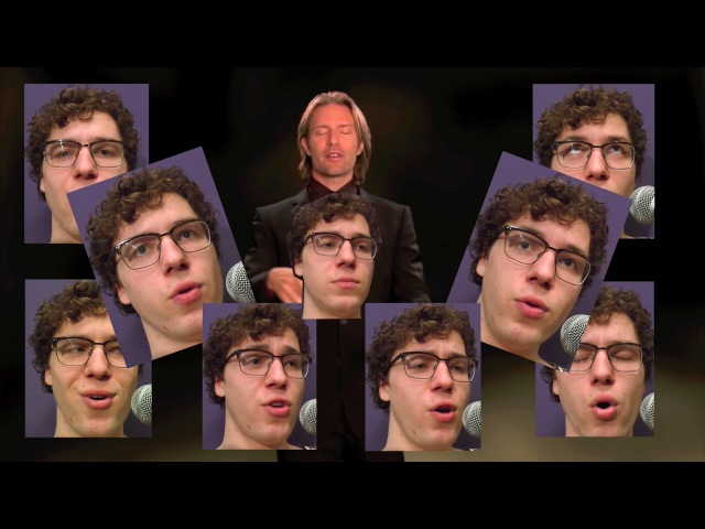 All Star but it's a Bach chorale but it's a 16 piece choir but all parts are actually sung by me