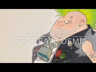 Barf Coffie - Procreate Demo