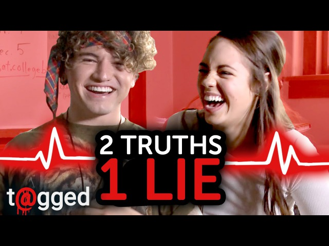 2 Truths 1 Lie w/ Jc Caylen and Claudia Sulewski | t@gged