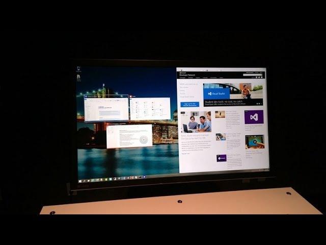 Windows 10 Snap Assist Автоматическое разделение экрана