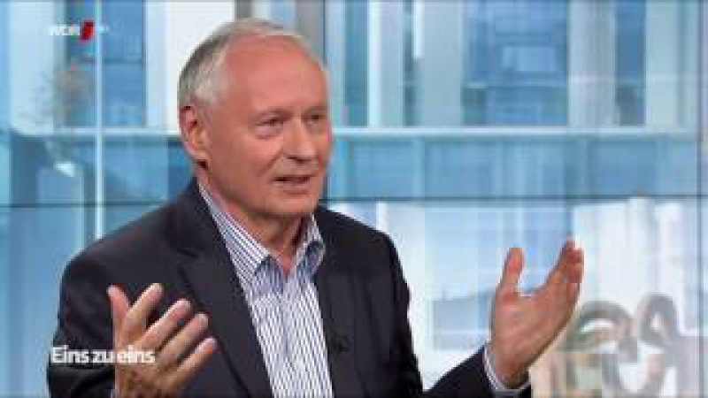 Lafontaine klärt naiven Moderator auf Fake News Freihandel Ukraine Syrien