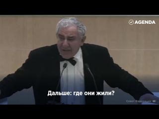 Гениально и глубоко. Михаил Казник выступление в Совете Федерации.