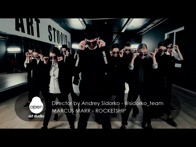 Marcus Marr Rocketship Directed by Andrey Sidorko @sidorko team Open Art Studio