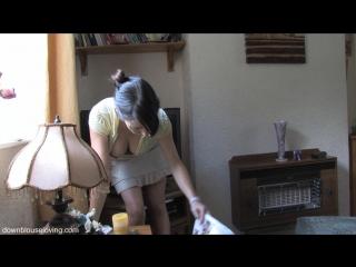 Jo-Jo  Downblouse 2 ( fetish milf wet pussy big tits suck blowjob kink porn anal мамка сосет порно анал шлюха фетиш )