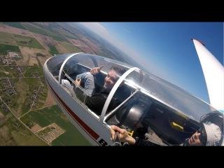 Полёт на планере. Фигуры высшего пилотажа