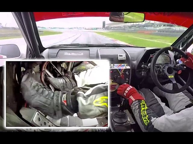 Racing Footwork Gearshifts Heel Toe | Sepang Circuit
