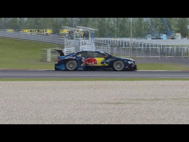Raceroom Racing Simcentral R3E DTM Gorodetsky VS Kapustin Battle