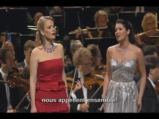 "Leo Delibes - ""Дуэт цветов"" из оп. ""Лакме"" - Anna Netrebko, Elina Garanca"