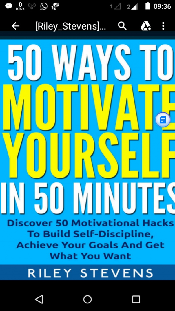 50 Ways To Motivate Yourself In 50 minutes