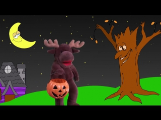 Three scary spiders song and more _ 27mins halloween songs collection for kids
