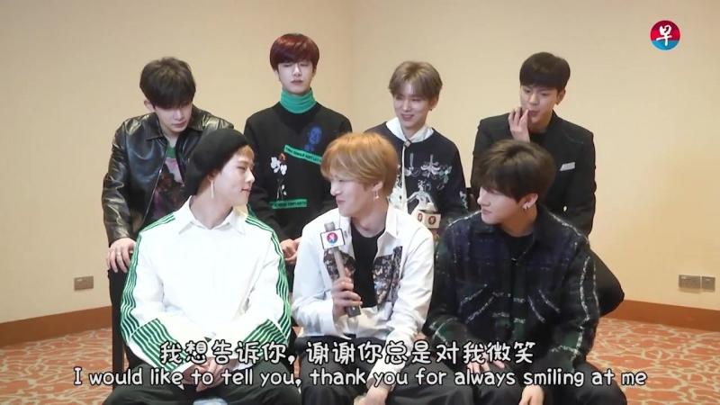 JooHyuk Monsta X interview for Zaobao