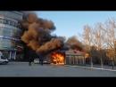 Пожар Екатеринбург Сгоревший киоск 05052018