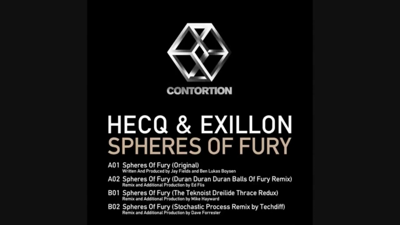 D.J. HECQ D.J. ExiLLoN ~ Spheres of Fury.