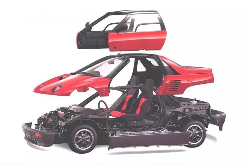 700 килограммов ярости редкого спорткара Autozam AZ-1, который и Suzuki, и Mazda., изображение №7