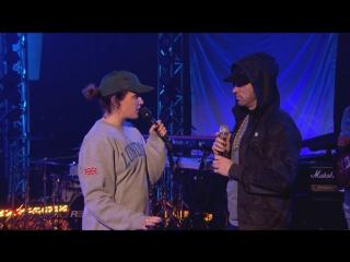 Мини-интервью Эминема с Annie Mac на BBC Radio 1 (14 декабря) // ePro x WSR