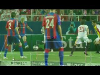 Лига Чемпионов 2009/10. Севилья (Испания) - ЦСКА (Москва) - 1:2 (1:1)