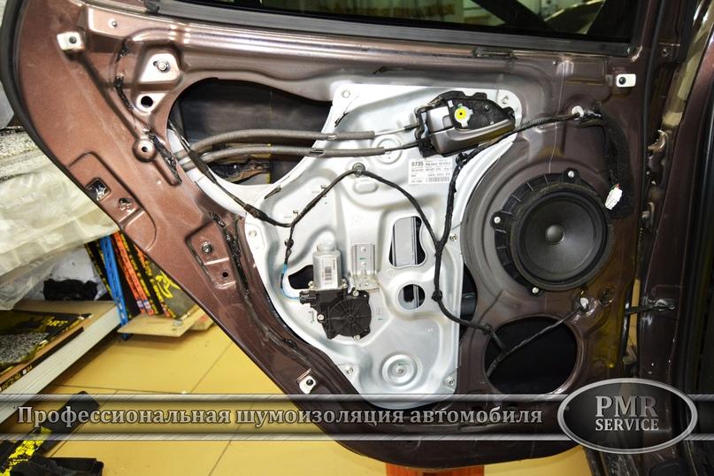 Комплексная шумоизоляция Hyundai ix 35, изображение №13