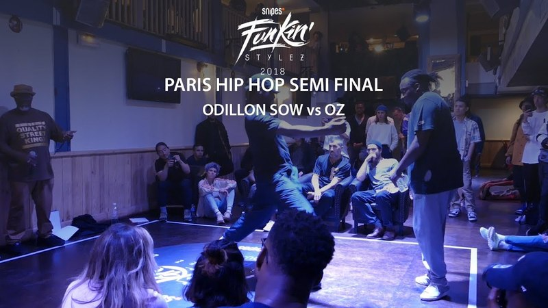 Funkin Stylez Paris preselections - Hip hop semi final Odillon Sow vs Oz | Danceproject.info