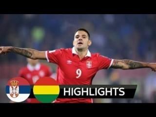 Serbia vs Bolivia 5-1 all Goals  Highlights 09_06_2018
