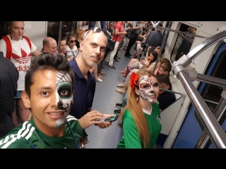 Catrines en el metro de moscú