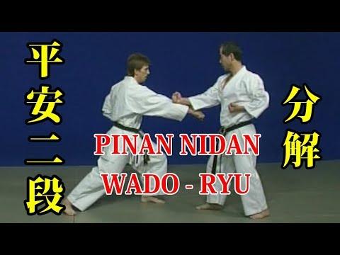 WADO - RYU kata Pinan Nidan Bunkai 和道流 形 分解 (平安二段)