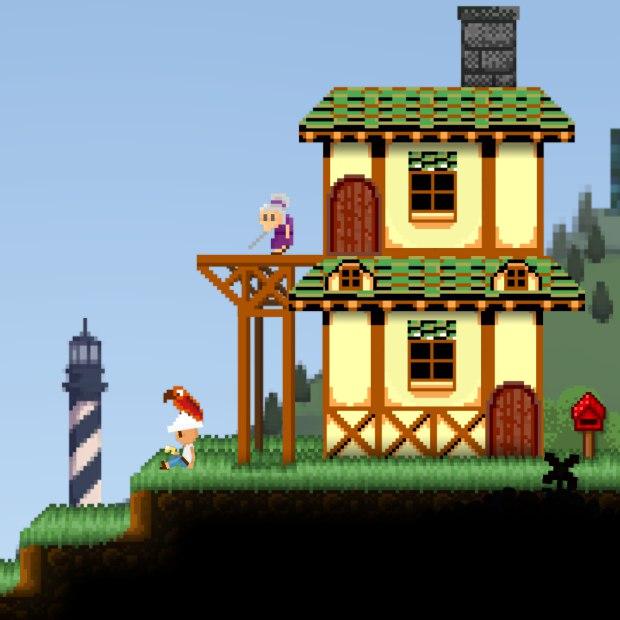Этот скриншот из блога намекает нам на скорое введение в игру режима ретро-графики в стиле оригинала