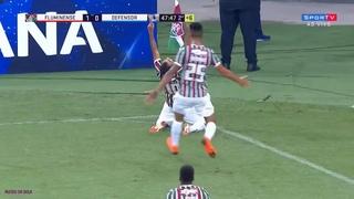 GOL OLÍMPICO DE SORNOZA! Fluminense 2 x 0 Defensor - Sulamericana 2018