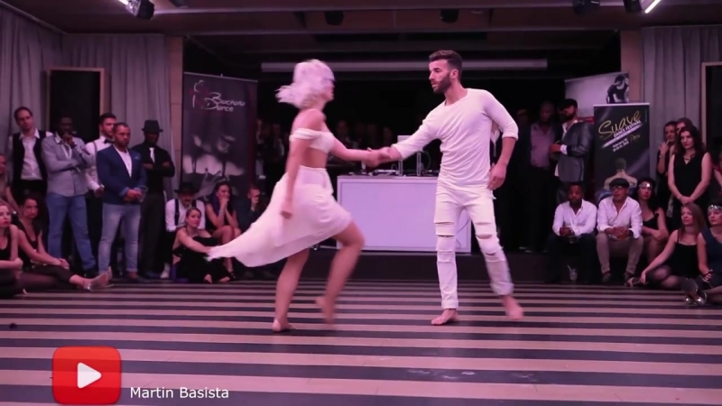 Sara Lopez and Reda kizomba dance video bratislava @ BSDF 2015