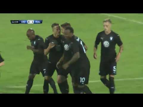 Carlos Strandberg Goal ● Drita vs Malmo FF ● Champions League Qualifying 10 07 2018