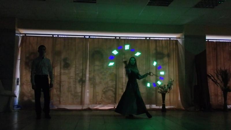 У Шекспир Ромео и Джульетта исполняет театр света и огня Логрус