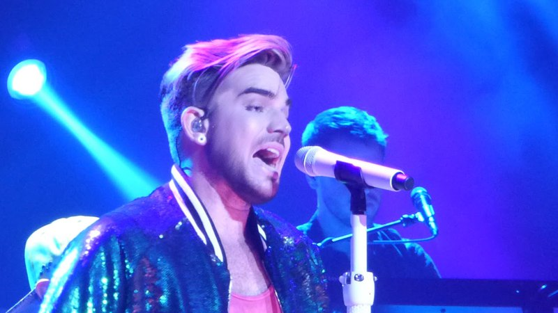 20160108 Adam Lambert - Lay Me Down/Shady/Fever at Tokyo Dome City Hall in Japan