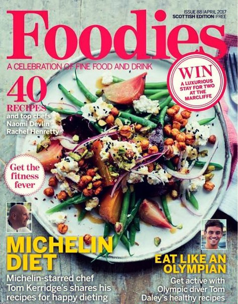 Foodies Magazine April 2017