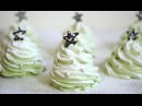 Christmas Tree Meringues Christmas Recipe