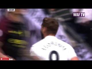 Fernando Llorente FIRST Goal - Swansea Vs Manchester City (1-1)