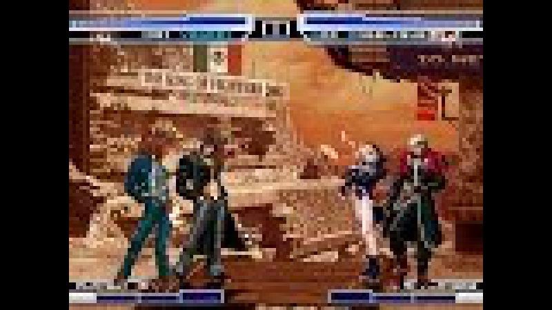 KOF WOJ ~ Iori Yagami CT Legend Kyo VS Lord Goenitz God Angelique