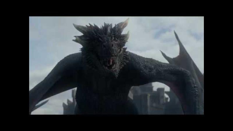 Game of Thrones 7x05 Jon Snow meets Drogon Daenerys reunites with Jorah