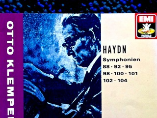 Haydn - Symphonies 88,92,95,98,100,101,102,104 (reference recording : Otto Klemperer)