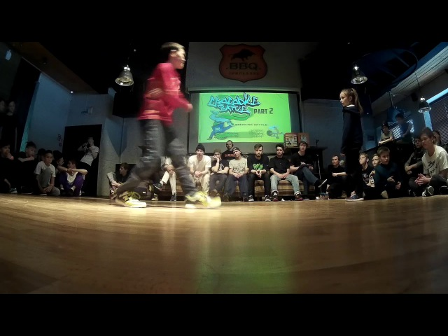 Арина vs. Флеш / CROCODILE BATTLE II / Ижевск 26.03.17